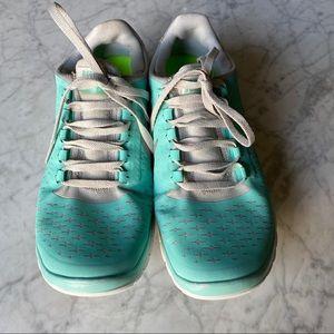 Nike Shoes - Nike Free Run 3.0 Rare Tiffany Blue Running Shoe💙